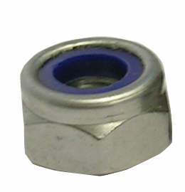 2BA Nyloc Nut T type A4/316 ss BS 57