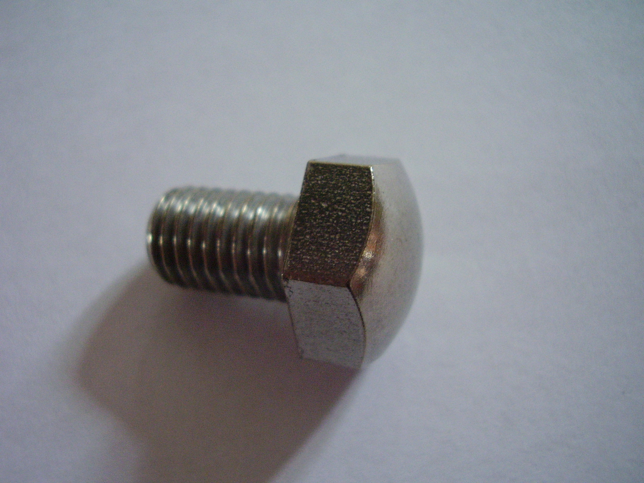 "(0.500"") 1/2""-20 BSCy x2"" Hex Domed Setscrew"