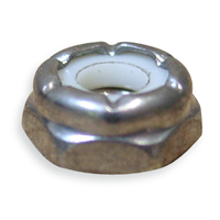 "BSW Nyloc Nut T type 0.250"" (1/4""-20) BS 1083"