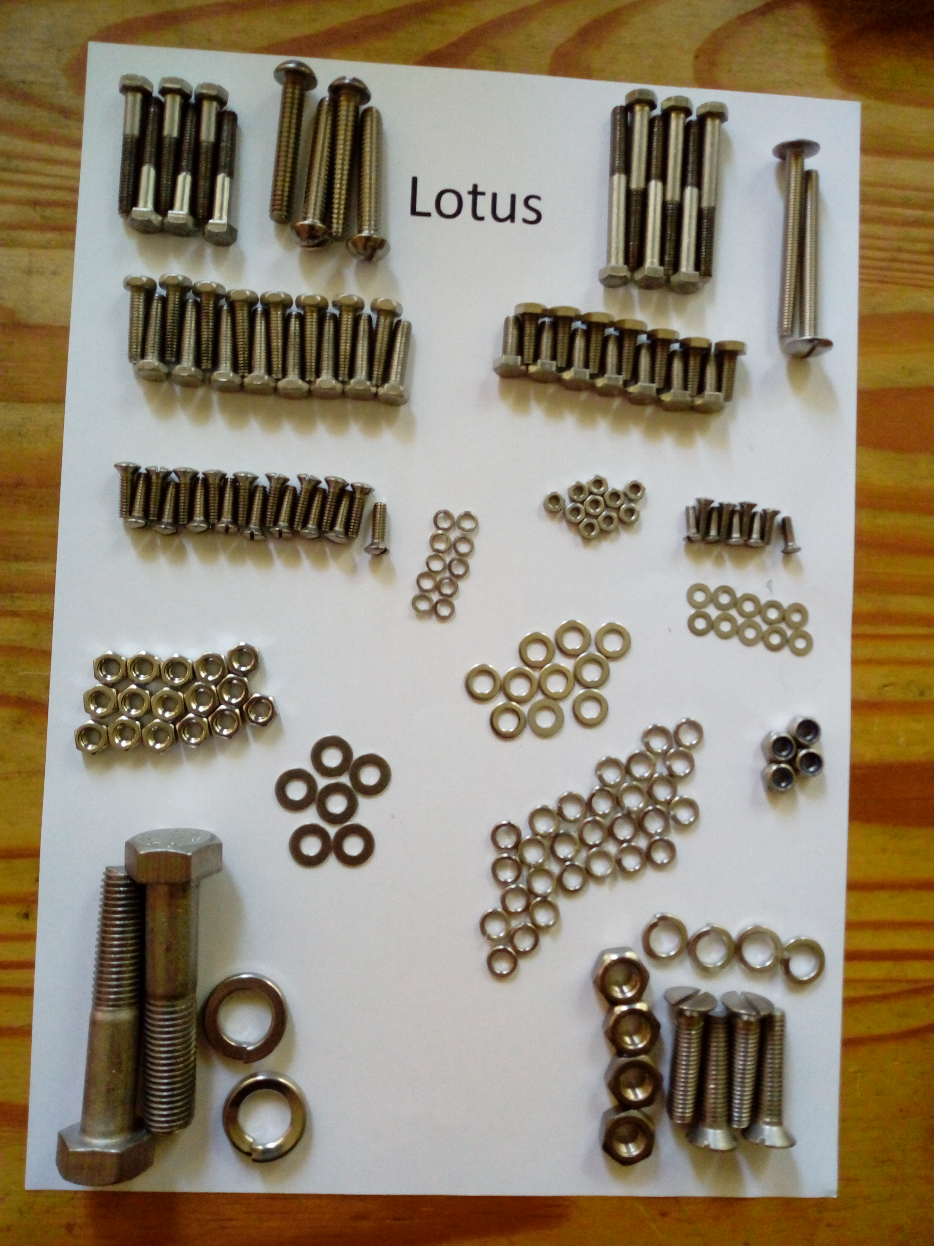 Lotus 7 Series 2 1965 Full Car Kit